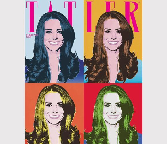Kate Middleton: princess of pop art